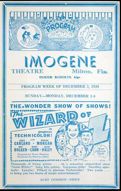 Imogene Theatre Play Bill
